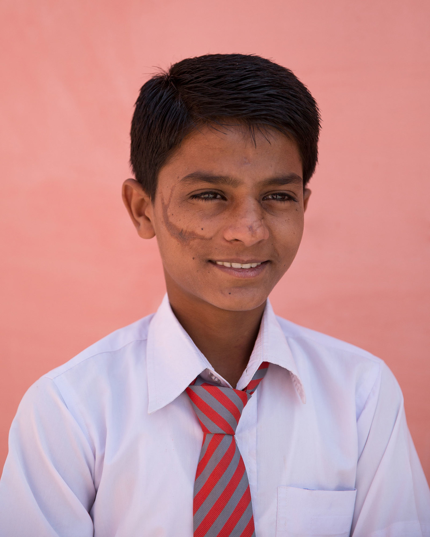 "Kamlesh Gurjar, 8th class.  ""I want to be an engineer so that I may discover something new, so I can help build up our country."""